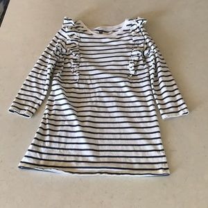 EUC Tea Collection Striped Dress Size 8